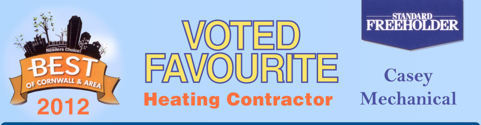 Voted Favourite Heating Contractor